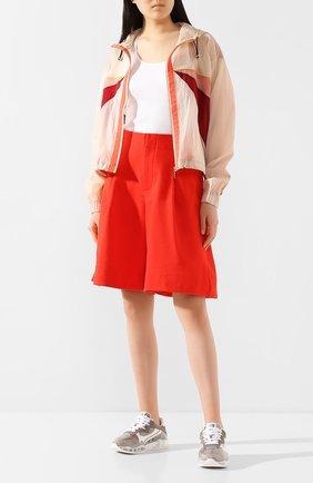 Женская куртка P.E. NATION розового цвета, арт. 19PE4J098-1 | Фото 2