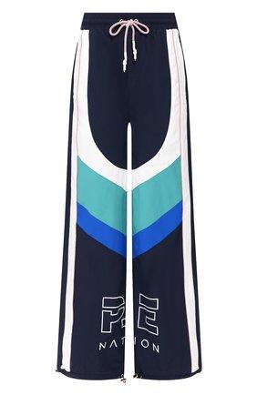 Женские брюки P.E. NATION синего цвета, арт. 19PE4P038-1 | Фото 1
