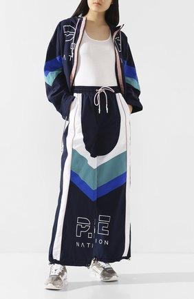 Женские брюки P.E. NATION синего цвета, арт. 19PE4P038-1 | Фото 2