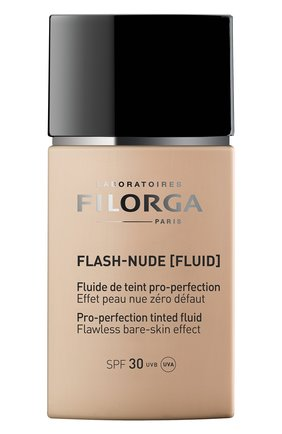 Женское совершенствующий тональный флюид flash-nude, nude medium FILORGA бесцветного цвета, арт. 3540550009520 | Фото 1