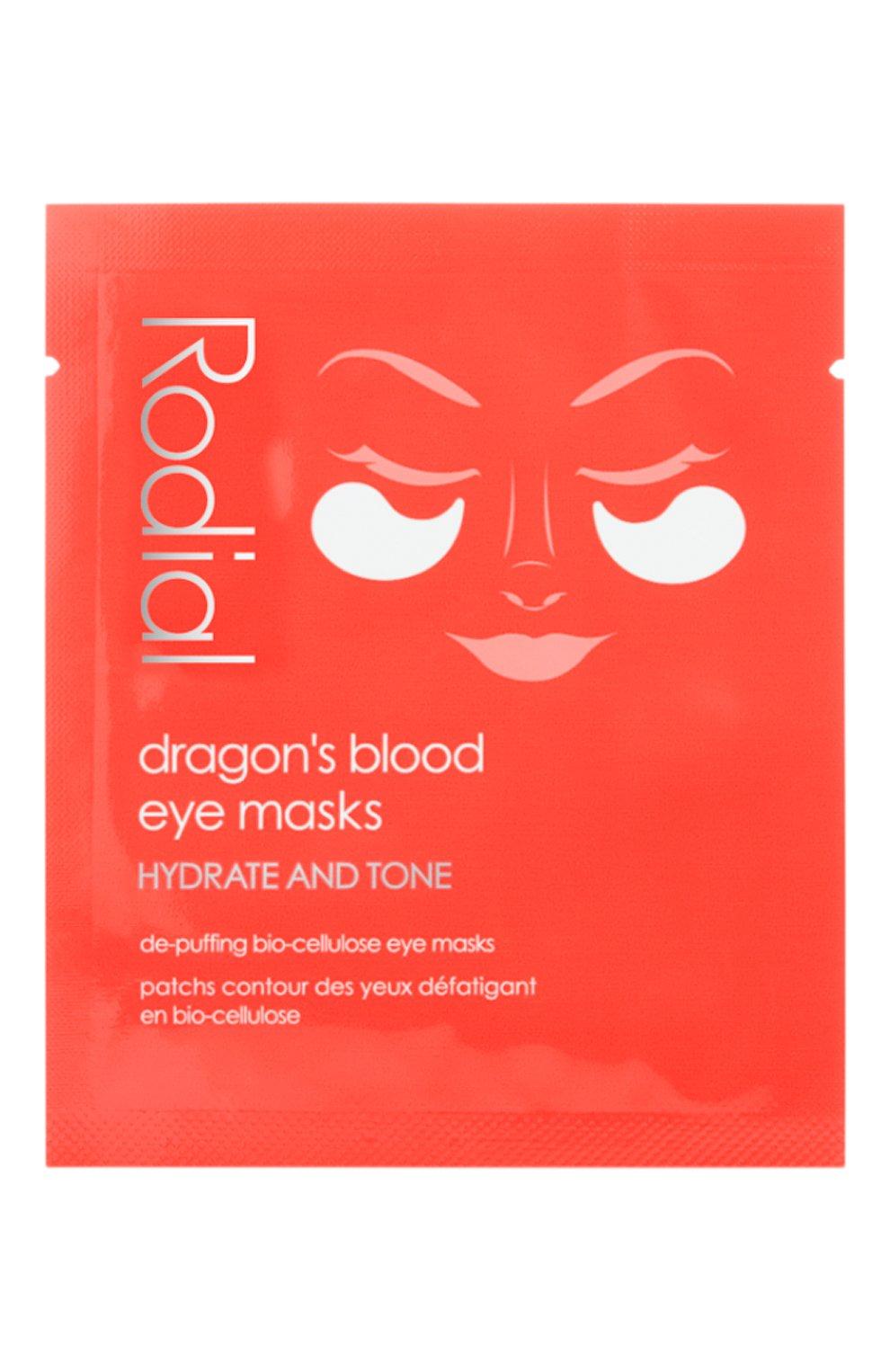 Женского патчи для кожи вокруг глаз с экстрактом красной смолы RODIAL бесцветного цвета, арт. 5060027064695 | Фото 1