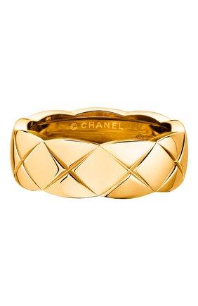 Женские кольцо CHANEL желтого золота цвета, арт. J10571 | Фото 1