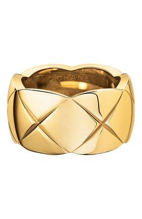 Женские кольцо CHANEL желтого золота цвета, арт. J10574 | Фото 1