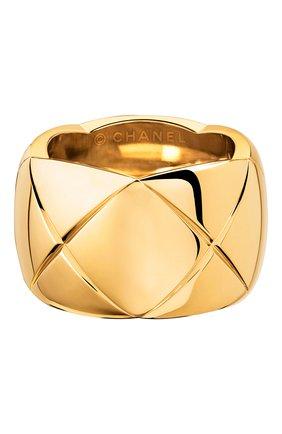 Женские кольцо CHANEL желтого золота цвета, арт. J10575 | Фото 1