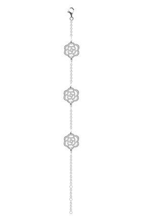 Женский браслет CHANEL белого золота цвета, арт. J10578 | Фото 2