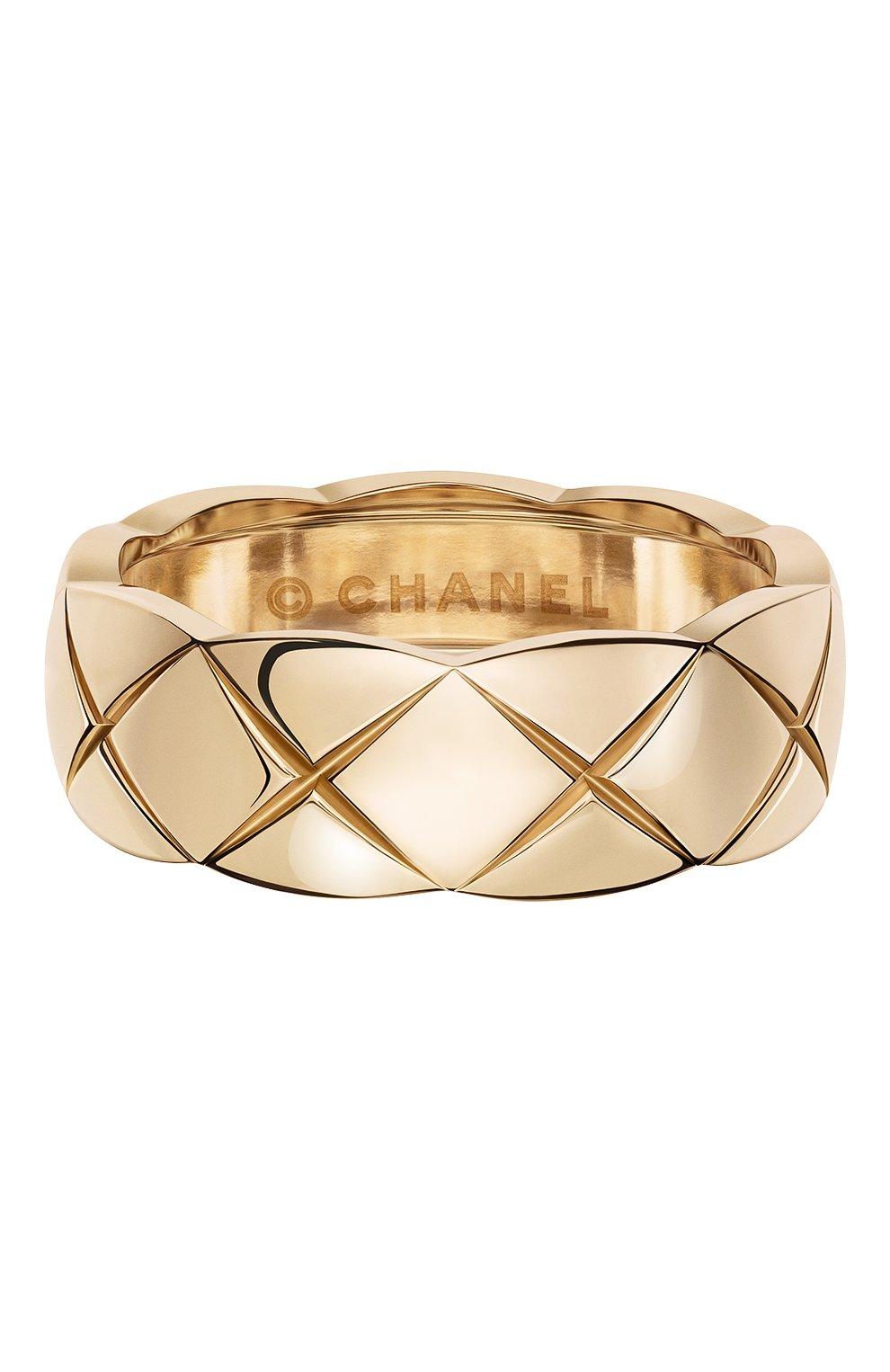 Женские кольцо CHANEL розового золота цвета, арт. J10817   Фото 1