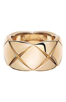 Женские кольцо CHANEL розового золота цвета, арт. J10818 | Фото 1