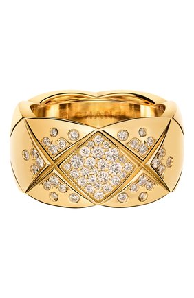 Женские кольцо CHANEL желтого золота цвета, арт. J10862 | Фото 1