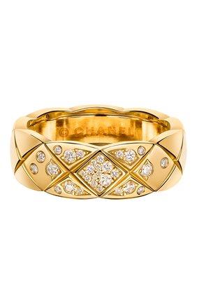 Женские кольцо CHANEL желтого золота цвета, арт. J10864 | Фото 1