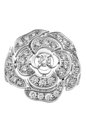 Женские кольцо CHANEL белого золота цвета, арт. J11182 | Фото 2