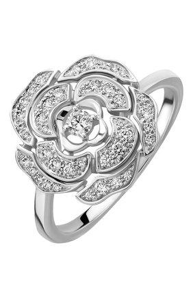 Женские кольцо CHANEL белого золота цвета, арт. J11188 | Фото 1