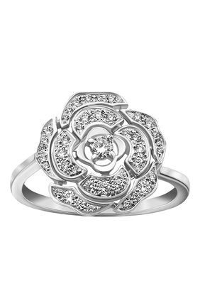 Женские кольцо CHANEL белого золота цвета, арт. J11188 | Фото 2