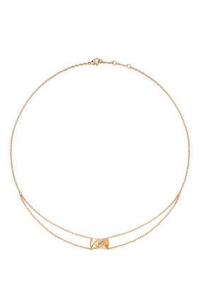 Женские колье CHANEL розового золота цвета, арт. J11356 | Фото 1