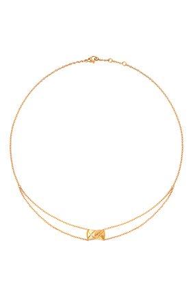 Женские колье CHANEL желтого золота цвета, арт. J11360 | Фото 1