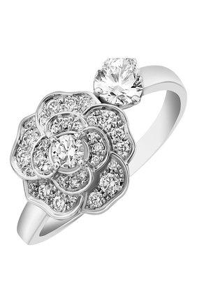 Женские кольцо CHANEL белого золота цвета, арт. J11361 | Фото 1
