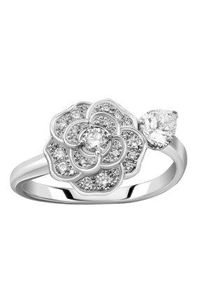 Женские кольцо CHANEL белого золота цвета, арт. J11361 | Фото 2