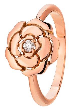 Женские кольцо CHANEL розового золота цвета, арт. J11662 | Фото 1