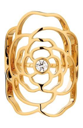Женские кольцо CHANEL желтого золота цвета, арт. J11670 | Фото 1