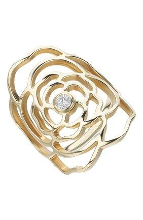 Женские кольцо CHANEL желтого золота цвета, арт. J11670 | Фото 2