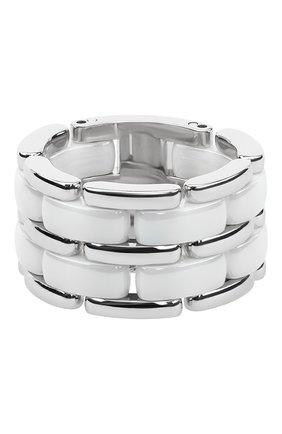 Женские кольцо CHANEL белого золота цвета, арт. J2644 | Фото 1