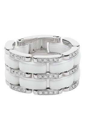 Женские кольцо CHANEL белого золота цвета, арт. J2645 | Фото 1