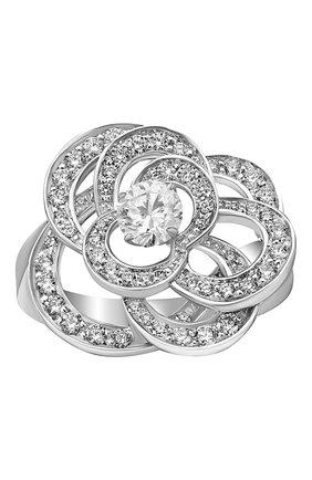 Женские кольцо CHANEL белого золота цвета, арт. J2671 | Фото 2