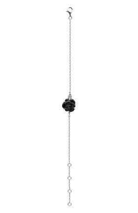 Женский браслет CHANEL белого золота цвета, арт. J3154 | Фото 2