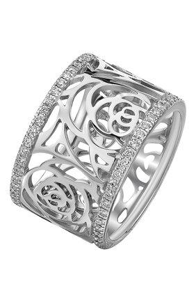 Женские кольцо CHANEL белого золота цвета, арт. J3397 | Фото 1