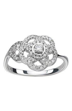 Женские кольцо CHANEL белого золота цвета, арт. J3600 | Фото 2
