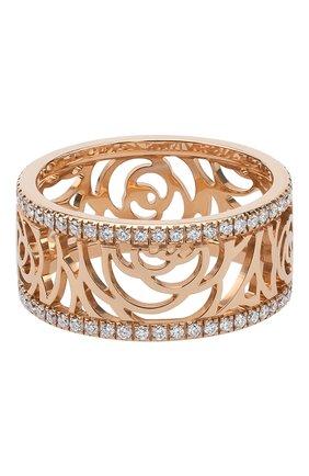 Женские кольцо CHANEL розового золота цвета, арт. J3933 | Фото 1