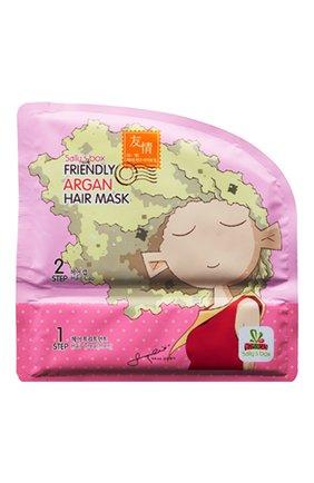 Женского маска-шапочка для волос c аргановым маслом ULTRU бесцветного цвета, арт. 8809208133655 | Фото 1
