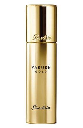 Женское стойкое тональное средство parure gold spf30, 00 beige GUERLAIN бесцветного цвета, арт. G043031 | Фото 1