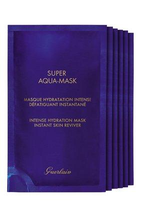 Женская увлажняющие маски super aqua GUERLAIN бесцветного цвета, арт. G061545 | Фото 2