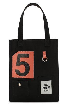 Женская сумка-тоут SPRWMN черного цвета, арт. W506 | Фото 1