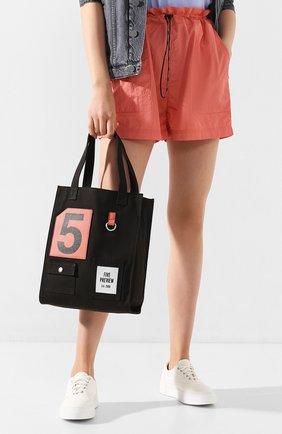 Женская сумка-тоут SPRWMN черного цвета, арт. W506 | Фото 2