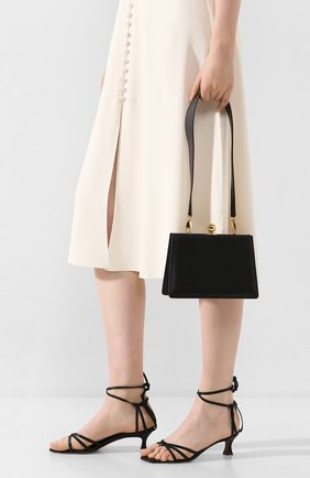 Женская сумка twin mini RATIO ET MOTUS черного цвета, арт. REM20SSMTBK-GD | Фото 2