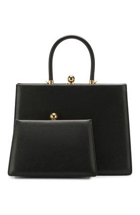 Женская сумка twin frame RATIO ET MOTUS черного цвета, арт. REM20SSTFBK-GD | Фото 1