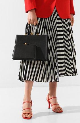 Женская сумка twin frame RATIO ET MOTUS черного цвета, арт. REM20SSTFBK-GD | Фото 2
