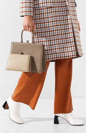 Женская сумка twin frame RATIO ET MOTUS бежевого цвета, арт. REM20SSTFER/M0-SL | Фото 2