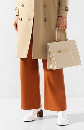 Женская сумка twin frame RATIO ET MOTUS кремвого цвета, арт. REM20SSTFLM-GD | Фото 2