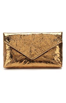 Женский клатч DRIES VAN NOTEN золотого цвета, арт. 201-11506-251 | Фото 1