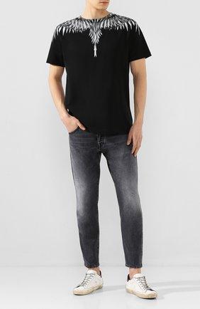 Мужские джинсы 2 MEN JEANS темно-серого цвета, арт. FARRAN/Y205U | Фото 2