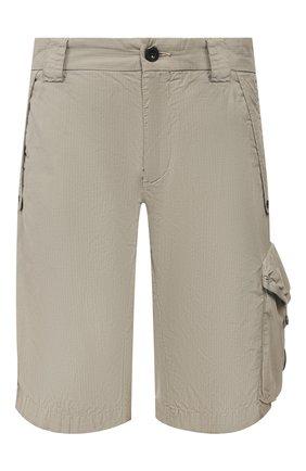 Мужские хлопковые шорты C.P. COMPANY бежевого цвета, арт. 08CMBE334A-005699G | Фото 1