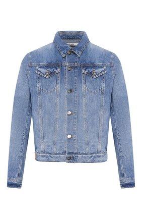 Мужская джинсовая куртка 2 MEN JEANS синего цвета, арт. CLIFF/YNG4Y | Фото 1