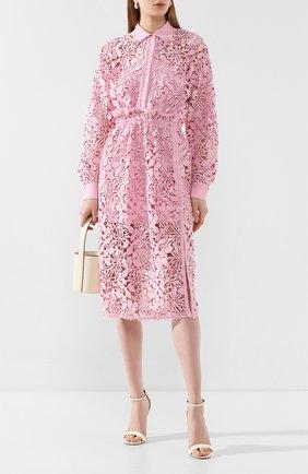 Женское платье-миди N21 розового цвета, арт. 20E N2M0/H291/5262 | Фото 2