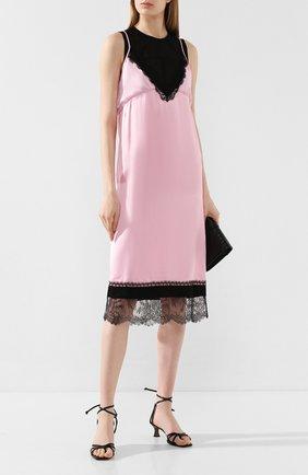 Женское платье из вискозы N21 розового цвета, арт. 20E N2M0/H081/5266 | Фото 2