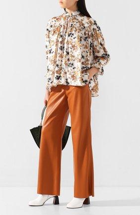 Женская блузка VICTORIA, VICTORIA BECKHAM разноцветного цвета, арт. 2220WSH001166A | Фото 2