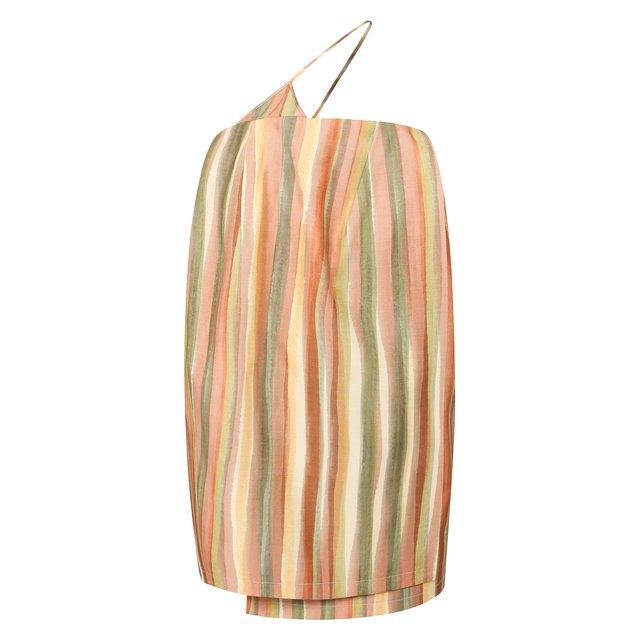 Платье из смеси вискозы и шелка Jacquemus