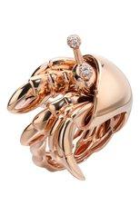 Женские кольцо ROBERTO COIN бесцветного цвета, арт. ADR378RI0199 | Фото 1