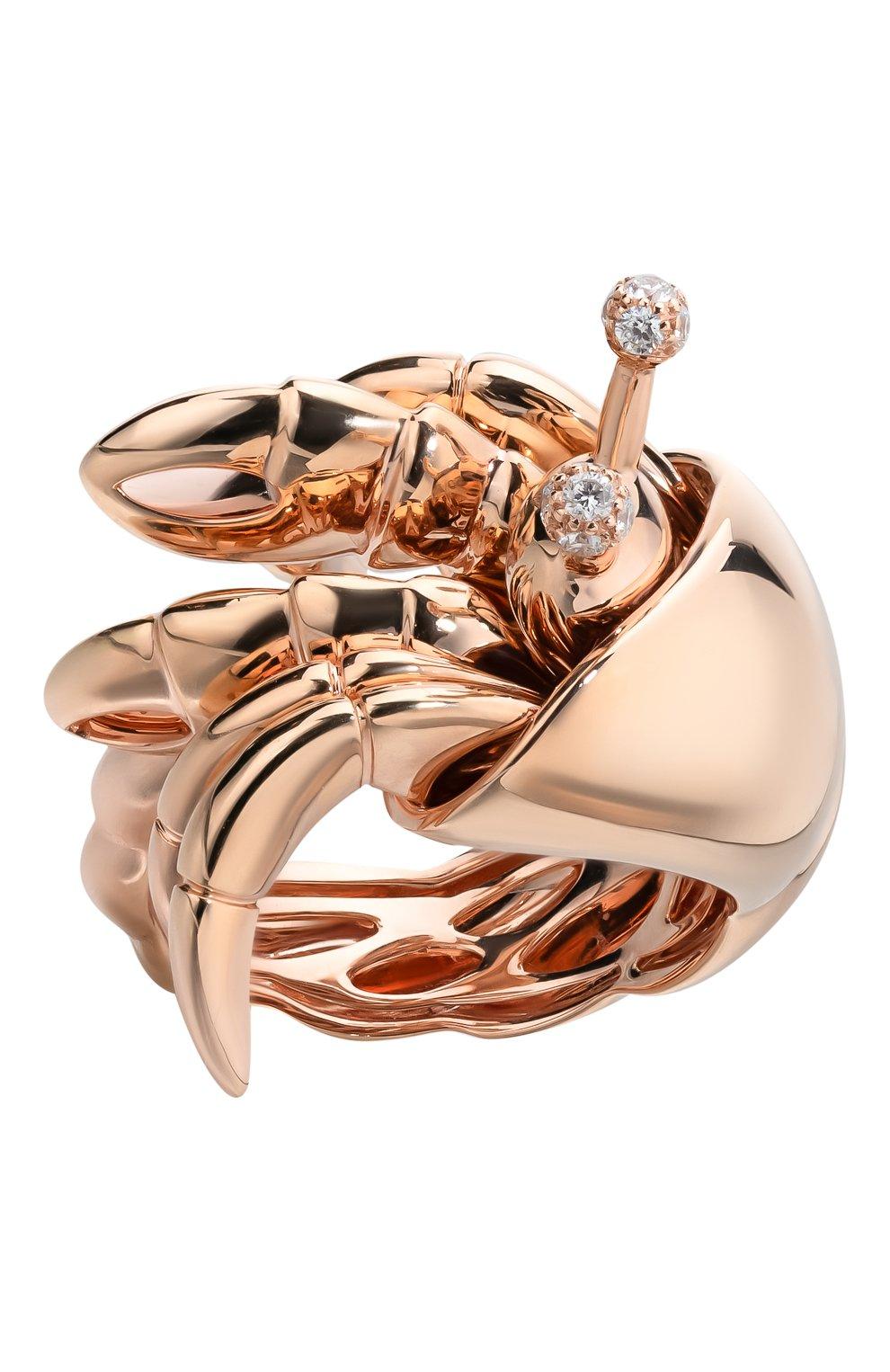 Женские кольцо ROBERTO COIN бесцветного цвета, арт. ADR378RI0199 | Фото 2